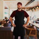 empresa que faz avental para garçom personalizado Chácara do Piqueri