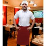 empresa que faz avental para garçom tipo saia Biritiba Mirim