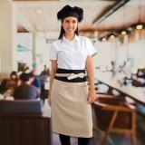 encomendar avental personalizado feminino com bolso Mauá