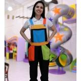 fornecedor de macacão colorido para festa infantil Jardim Everest