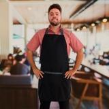 fornecedora de avental cozinheiro masculino Limeira