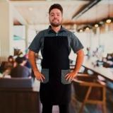 fornecedora de avental de cozinheiro masculino Jardim Iguatemi