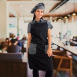 fornecedora de avental e gorro de cozinheiro Itupeva
