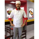loja de uniforme cozinheiro branco Santa Cruz