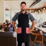 onde comprar avental garçom personalizado Morumbi