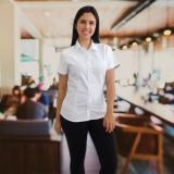 onde comprar uniforme branco cozinha Jardim Guedala