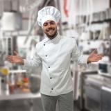 onde comprar uniforme cozinha masculino Cerqueira César