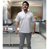 onde comprar uniforme cozinheiro branco Lauzane Paulista