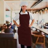 onde comprar uniforme cozinheiro completo Perus