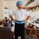 onde compro avental chef cozinha masculino Cananéia