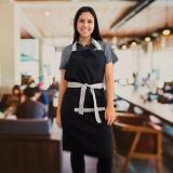 onde compro avental chef feminino Vila Maria