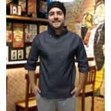 onde compro avental de chef personalizado Centro de São Paulo