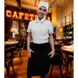 onde compro uniforme de garçonete de buffet Aricanduva