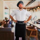 onde encontro avental chef cozinha masculino Vila Mariana