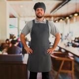 onde encontro avental chef cozinha Santa Isabel