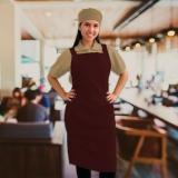 onde encontro avental chef feminino Pedreira