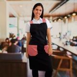 onde faz uniforme garçom restaurante Parque do Carmo