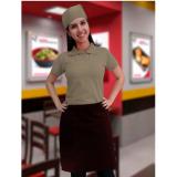 onde faz uniformes para garçonete de pizzaria Cubatão