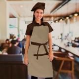 touca gourmet cozinheira Ponte Rasa