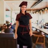uniforme cozinha feminino Santa Cruz