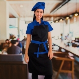 uniforme de garçonete de buffet Rio Pequeno