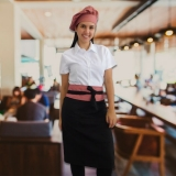 uniforme garçom restaurante Tremembé