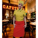 uniforme de garçonete de buffet