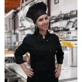 uniforme chef cozinha