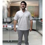 uniforme cozinheiro chefe