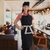 uniforme para garçom e garçonete Jandira