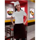 uniformes brancos cozinha São Domingos