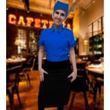 uniformes para garçonete de pizzaria cotação Jardim Adhemar de Barros