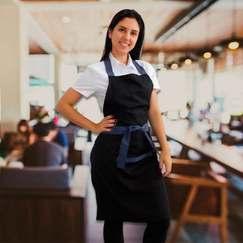 Uniforme Garçom de Buffet Guaianases - Uniformes para Garçonete de Pizzaria