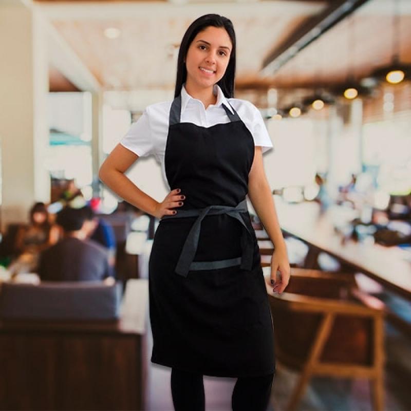 Uniforme Garçom Restaurante Cotação Ribeirão Preto - Uniforme de Garçonete