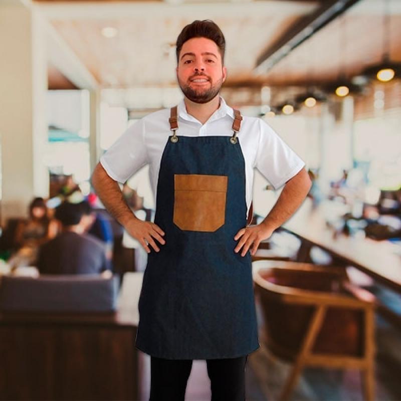 Uniforme Garçonete Restaurante Cotação Vila Cruzeiro - Uniforme de Garçonete