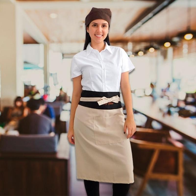 Uniforme para Garçom e Garçonete Cotação Parque Mandaqui - Uniforme Garçonete Restaurante