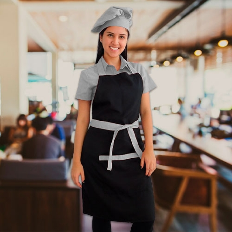 Uniforme para Garçonete de Buffet Cananéia - Uniforme para Garçonete de Restaurante