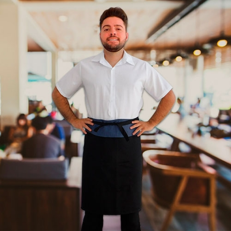 Uniformes Garçonetes Restaurante Louveira - Uniforme Garçonete Restaurante