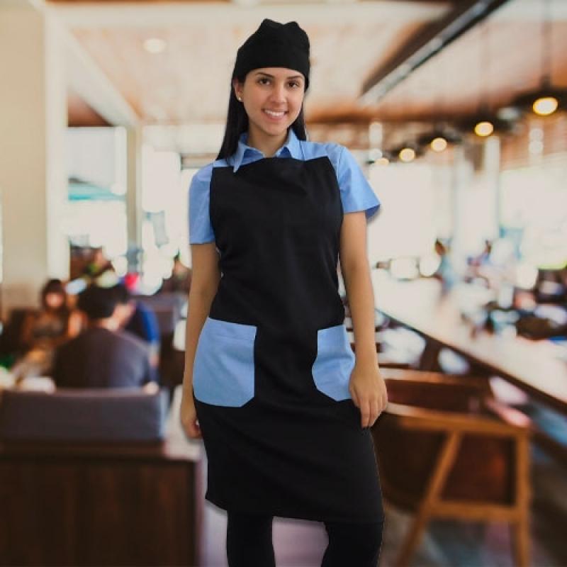 Uniformes Garçons de Buffet Sé - Uniforme para Garçonete de Restaurante