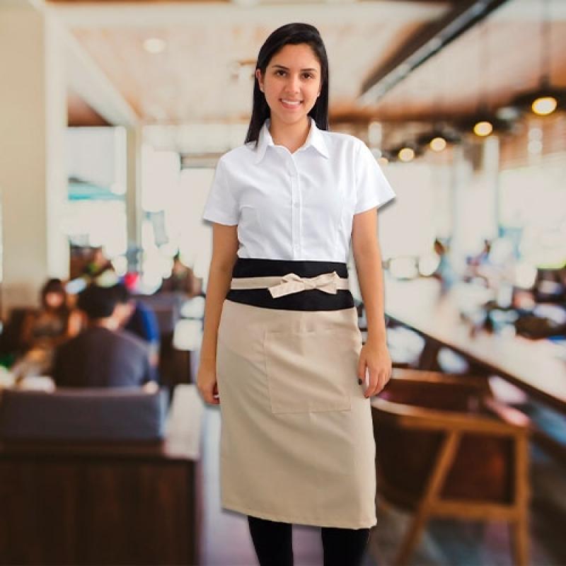 Uniformes Garçons Restaurante Cidade Patriarca - Uniforme Garçonete Restaurante