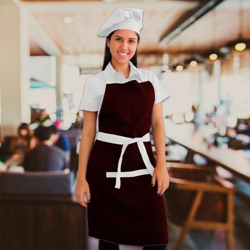 Uniformes para Garçonete de Pizzaria Santo Amaro - Uniforme para Garçonete Buffet